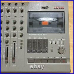 Tascam Portastudio 424 4-Track Tape Cassette Multi-Track Recorder from Japan F/S