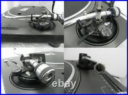 Technics SL-1200MK3 Turntable Dj Direct Record Player Black Excellent from Japan