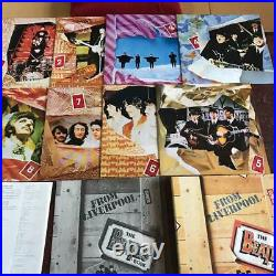The Beatles Box From Liverpool LP 8 Albums Box Set EMI Odeon Japan Rare F/S