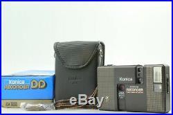 UNUSEDKonica RECORDER BLACK Half Frame 35mm Film Camerat from JAPAN #518