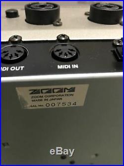 Used MRS-1608 Zoom MultiTrak RECORDING STUDIO F/S from Japan