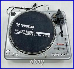 Vestax DJ Turntable PDX-2000 Analog Record Player AC100V Working from Japan