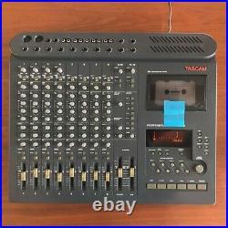 Vintage TASCAM Portastudio 488 MKII 8-Track Cassette Recorder Read From Japan