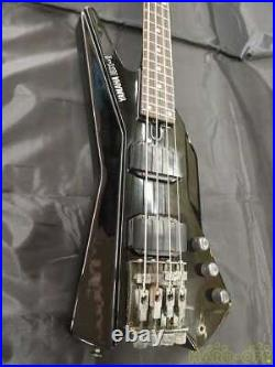 Yamaha BX-1 Electric Headless Bass Guitar Liver Recording from Japan