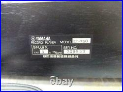 Yamaha GT-750 Direct Drive Record Player Turntable Used #209953 From Japan