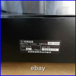 Yamaha GT-750 Record Player Direct Turntable Drive From Japan