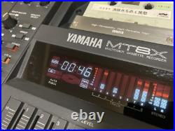 Yamaha MT8X Multitrack Cassette Tape Recorder 8track From Japan Used