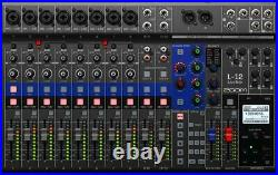 Zoom LiveTrak L-12 12-Channel Digital Mixer and Multi-Track Recorder From Japan